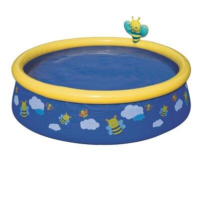 Детский надувной бассейн «Пчелки», 152 х 38 см, синий