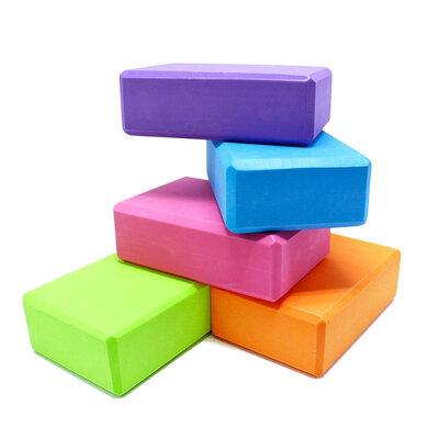 Блок для йоги, йога блок, кирпич для йоги - MS 0858 Еva