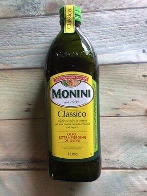 Оливковое масло monini classico extra vergine 1литр