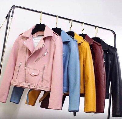 Новиночки Класснная куртка косуха, размеры 42- 46