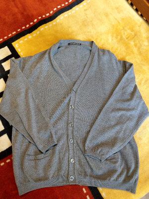 Кардиган пуловер кофта муж. Royal Wool Company, made in Italy, XL
