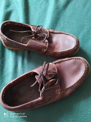 Туфли мужские кожа, размер 44