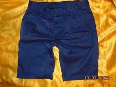 Катоновие стильние фирменние шорти капри бриджи бренд Denim.л-м