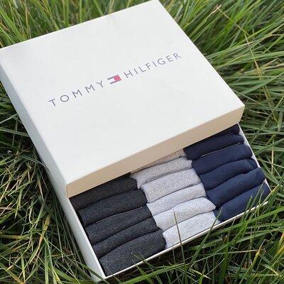 Носки низкие Tommy Hilfiger набор мужских из 30 шт