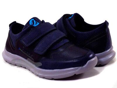 Туфли детские школьные для мальчиков Тм Clibee P510 размеры 32- 37