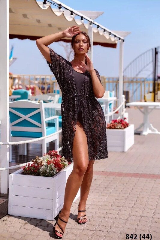 Туника пляжная стильная: 280 грн - парео, пляжные туники в Киеве, объявление №26363252 Клубок (ранее Клумба)