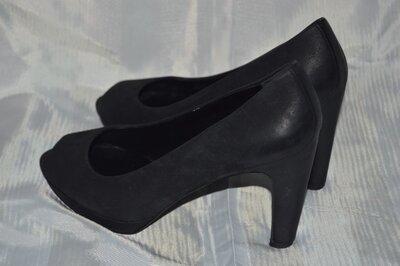 Босоножки туфли кожа ecco размер 40 41, туфлі босоніжки шкіра