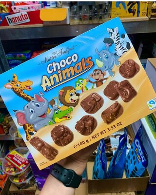 Шоколадные конфеты Choco Animals «Maitre Truffout»