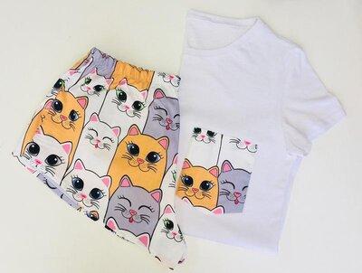 Пижама с котами