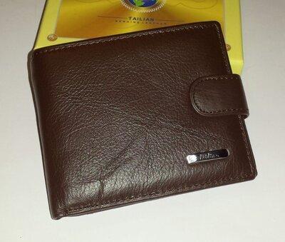 Мужской кошелёк из натуральной кожи Tailian T120D-H127-B
