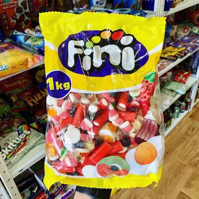 Миксовый пак жевательных конфеток от Fini 1 кг