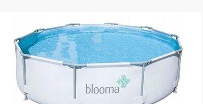 Каркасный бассейн Blooma 305х76 фильтр насос тент. Польша. Ол.