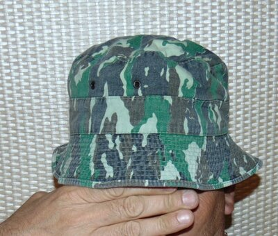 Продано: Катоновая стильная панама панамка милитари хаки Mil-Tex.м-л-хл .56-58