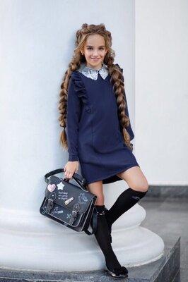 школьное платье, школьный сарафан
