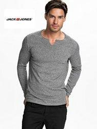 мужской реглан серого цвета Jack & Jones