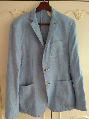 Продано: пиджак 100% лен