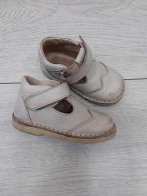 Ортопедические кожаные туфли, ортопедические полуботинки, ортопед, размер 21
