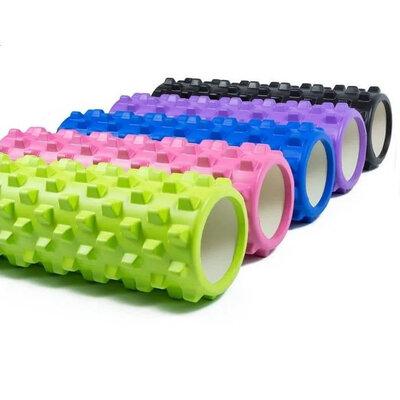 Валик массажный, роллер, ролик для фитнеса и йоги Grid Roller CF88 EVA 33 x 14 см