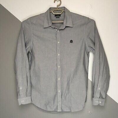 Стильная джинсовая рубашка zara man denim couture superslim fit, made in vietnam