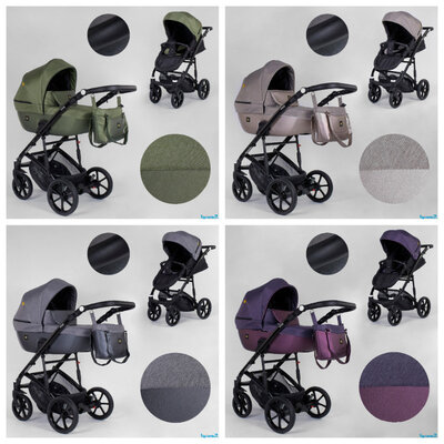 Детская коляска 2 в 1 Expander VIVA Вива водоотталкивающая плюс эко кожа