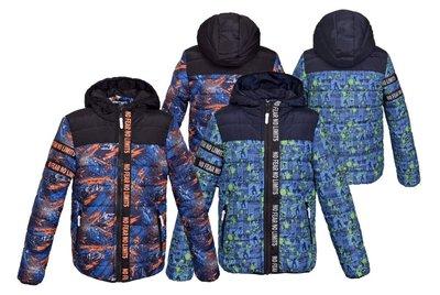 Зимняя куртка пуховик для мальчиков 2 расцветки
