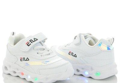 Белые кроссовки 26-29 размеры