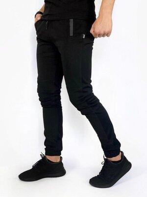 Котоновые штаны Intruder Chesst черные
