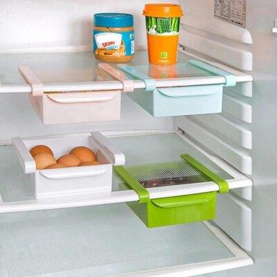 Органайзер в холодильник, для стола, выдвижная полка refrigerator