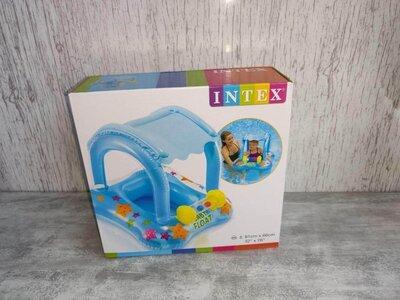 Круг плотик с ножками надувной Intex 56581
