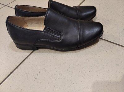 Распродажа. Школьные туфли для мальчика, школьные классические туфли 33,34,36,37