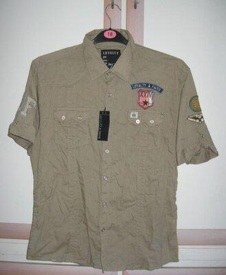 Брендова сорочка чоловіча Loyalty & Faith M-L Великобританія рубашка мужская