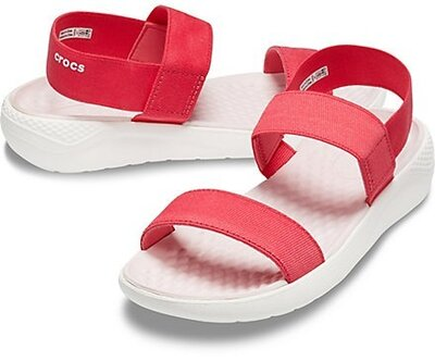 босоножки крокс женские сандалии crocs LiteRide Sandal кроксы босоножки лайтрайд оригинальные w9