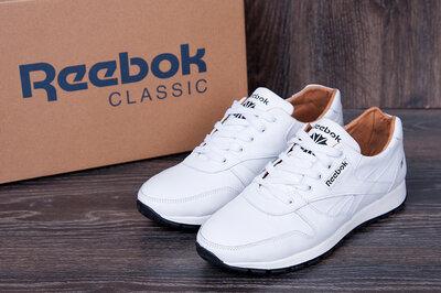 Продано: Мужские кожаные кроссовки Reebok из натуральной кожи