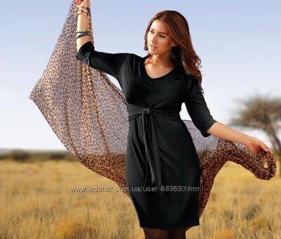 Продано: Стильное трикотажное платье от Tchibo Германия , размеры наши 54-56 48/50 евро