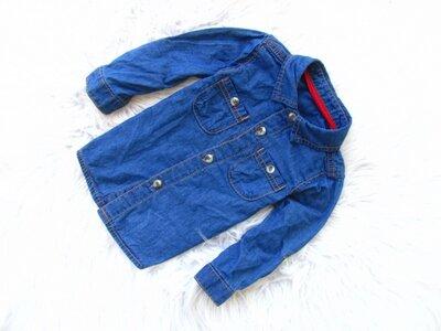 Качественная джинсовая рубашка George