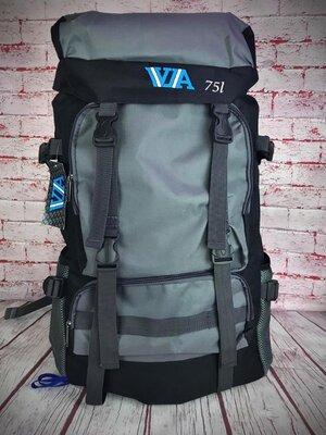 Большой туристический походный рюкзак. 75л. Дорожный рюкзак. Рк37-1