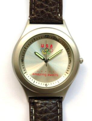 USA Olympics Amazing Awaits винтажные мужские часы из Сша