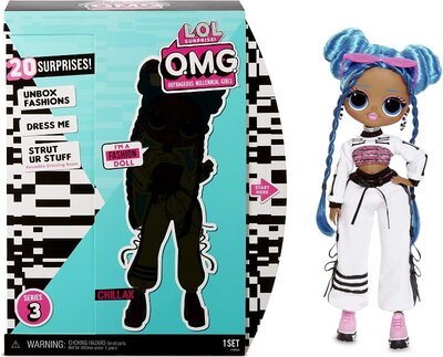 L.O.L. Surprise OMG - Chillax Fashion Doll with 20 Surprises Леди-Релакс