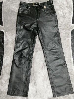 Мужские кожаные брюки Udekasi р. 48