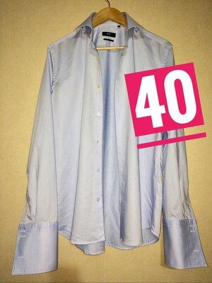40р HUGO BOSS новейшая рубашка под запонки brioni zegna kiton zilli canali roy robson lagerfeld