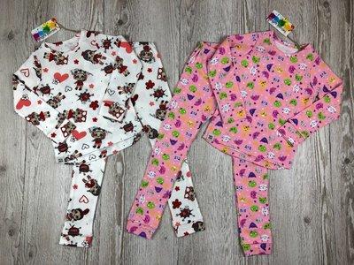 Нежные пижамы для девочек от Bright Berries