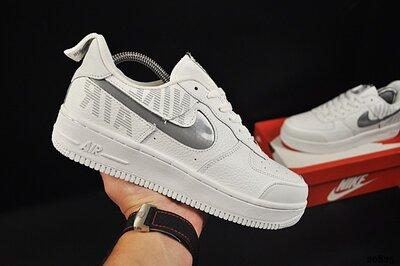 Кроссовки мужские Nike air force 1 max gross, белые