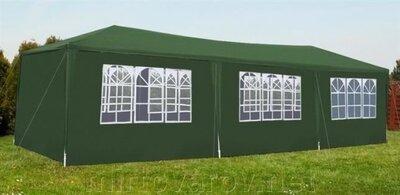Садовый шатер 3x9 м. Палатка. Павильон. 4 цвета. Польша. Ol.