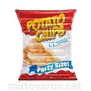 Надувной матрас плот Картофельные чипсы 58776