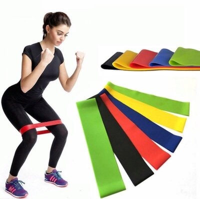 Набор фитнесс резинок 5 шт хорошего качества