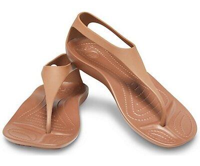 Сандалии Crocs Sexi Flip, Bronze, W7, W8, W9, W10