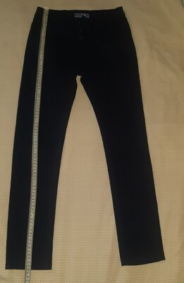 Котоновые школьные брюки