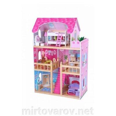 Детский домик для кукол Малиновая резиденция. Польша. Ka