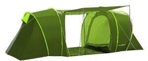Палатка туристическая Presto Acamper Lofot 4 зеленый, 3500 мм, тамбур