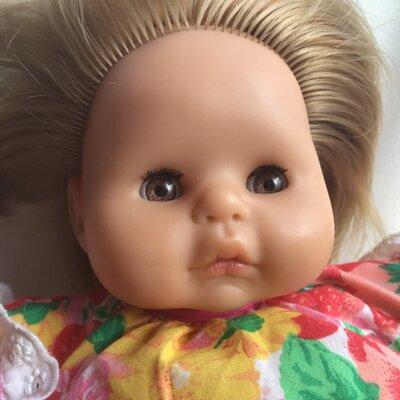 Цена ещё ниже Кукла игровая малышка Brigitte Leman Max Zapf,Germаny